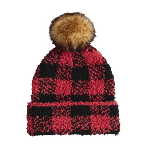 RED BUFFALO CHECK HAT