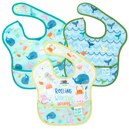SUPERBIB 3-PK ROLLING WITH WAVES