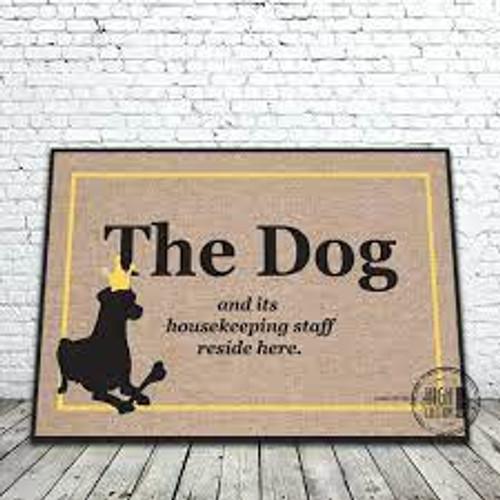 DOG HOUSEKEEPING STAFF MAT