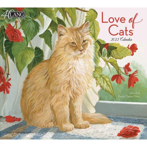 2022 CALENDAR LOVE OF CATS