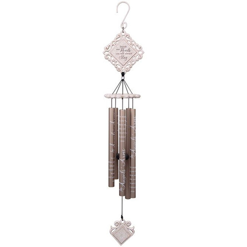 35 IN ANGELS ARMS WHITE CHIME
