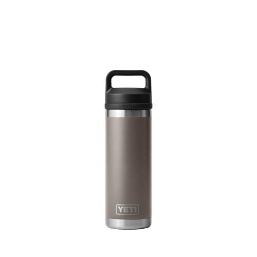 YETI Rambler 18 oz Sharptail Taupe BPA Free Bottle Chug