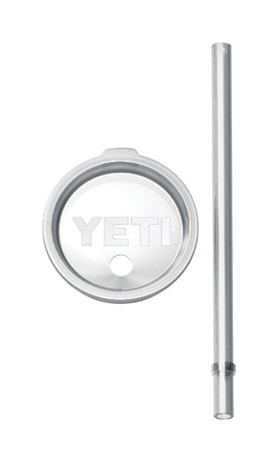 YETI Rambler Clear BPA Free Tumbler Lid and Straw 30 OZ