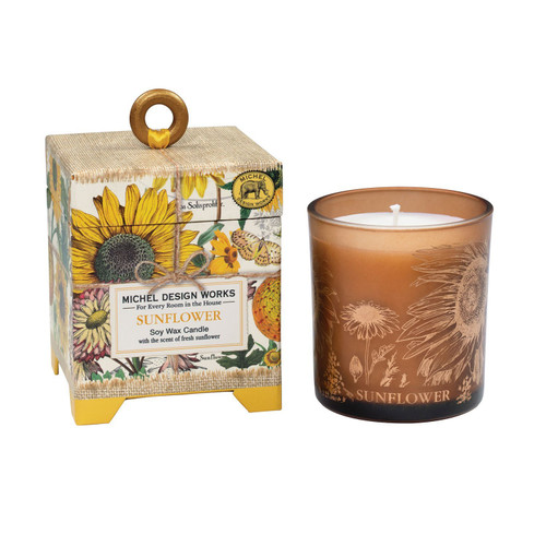 SUNFLOWER 6.5 OZ. CANDLE
