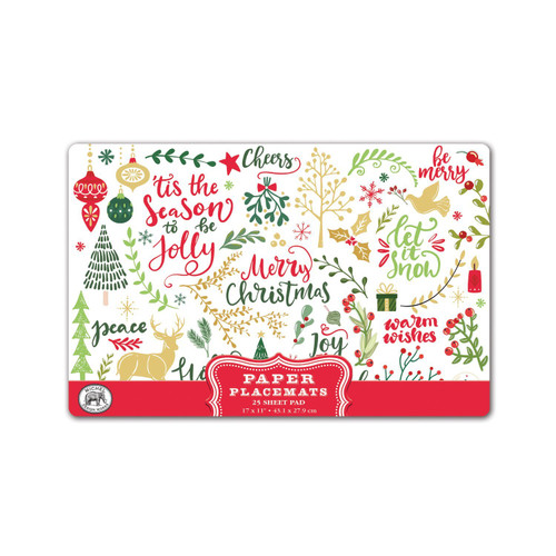 JOY TO THE WORLD PLACEMATS