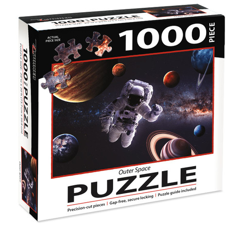 1000 PC PUZZLE OUTER SPACE