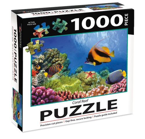 1000 PC PUZZLE CORAL REEF