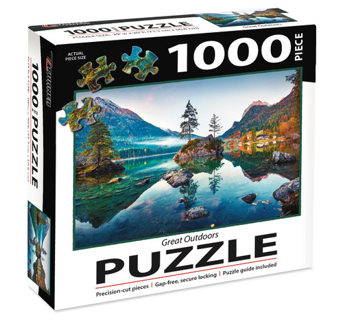 1000 PC PUZZLE GREAT OUTDOORS