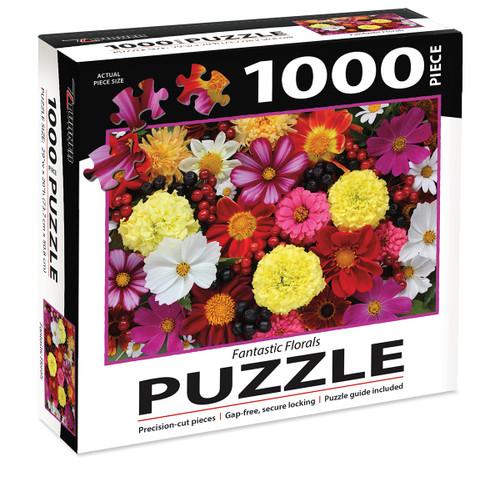 1000 PC PUZZLE FANTASTIC FLORALS
