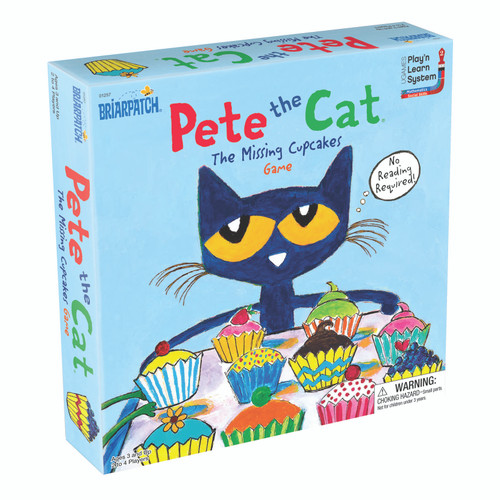 PETE THE CAT MISSING CUPCAKE