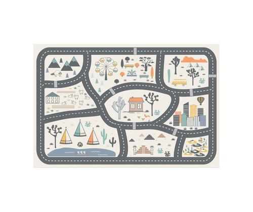 LITTLE REBEL FLOOR MAT  4.5'x6.5'