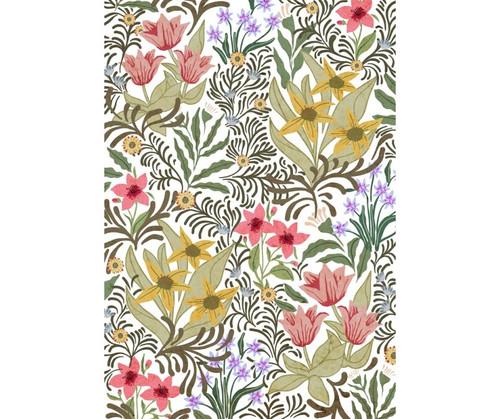 FLOWER POWER FLOOR MAT  2'x3'