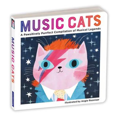 BOARD BOOK MUSIC CATS