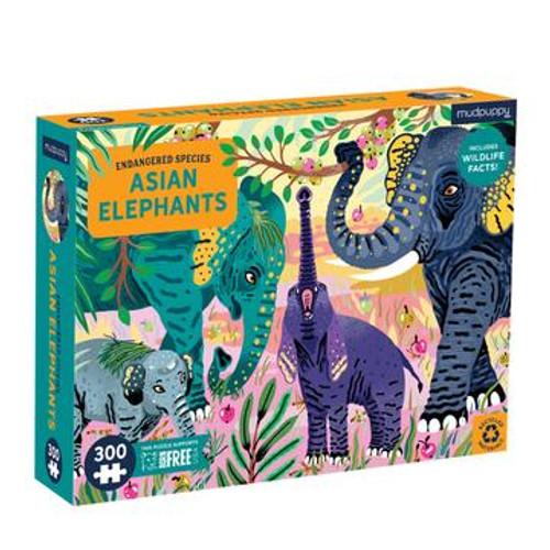300 ASIAN ELEPHANTS PUZZLE
