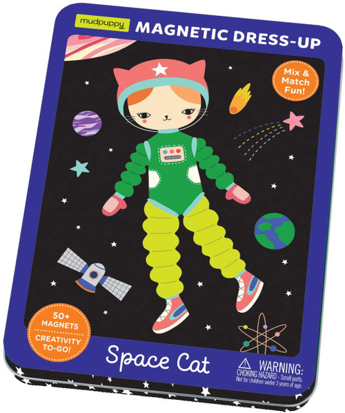 MAGNETIC TIN: SPACE CAT