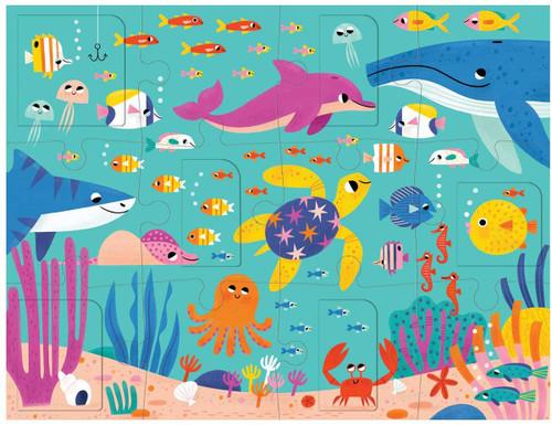 PUZZLE LIFT FLAP: OCEAN PARTY