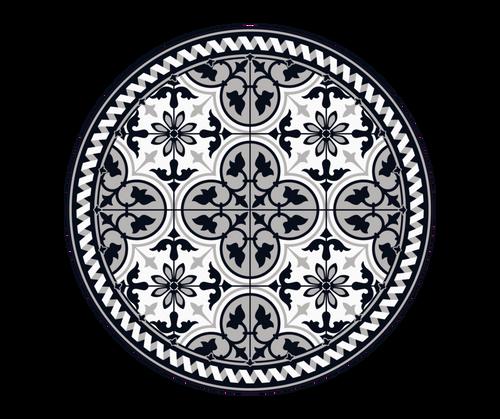 CERAMICS ROUND MAT  3.25'