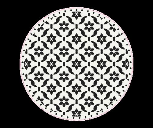 CERAMICS ROUND MAT 4.75'