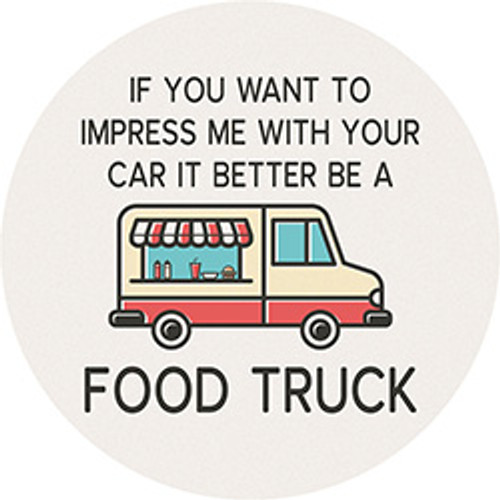 FOOD TRUCK CAR COASTER