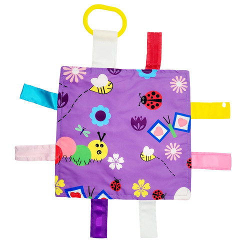 CRINKLE TAG SQUARE 8X8 GARDEN