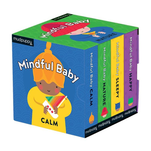 BOARD BOOK SET MINDFUL BABY