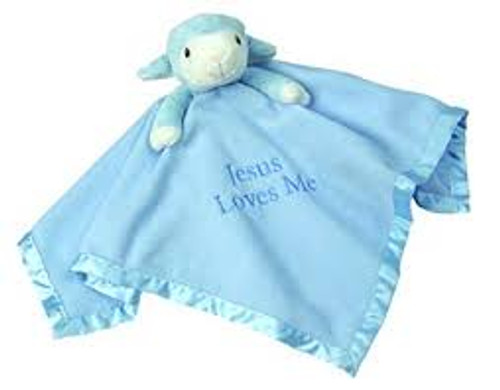 SNUGGLE BUDDY LITTLE LAMB BLUE