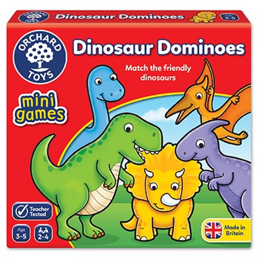 DINOSAUR DOMINOES MINI GAMES