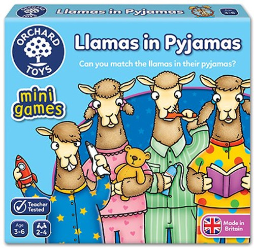 LLAMAS IN PYJAMAS GAME