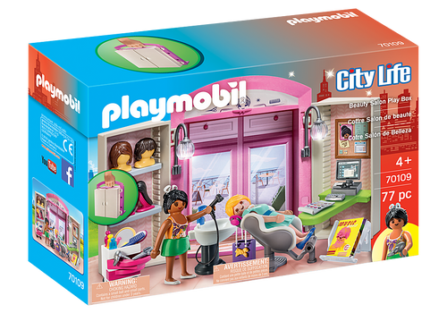BEAUTY SALON PLAY BOX