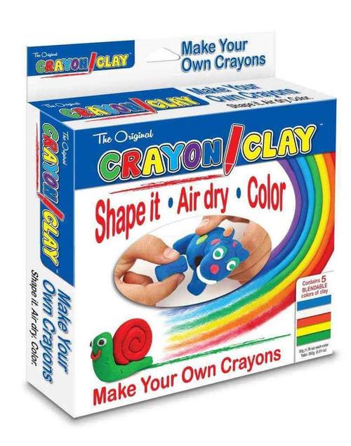 CRAYON CLAY 25G 5PK