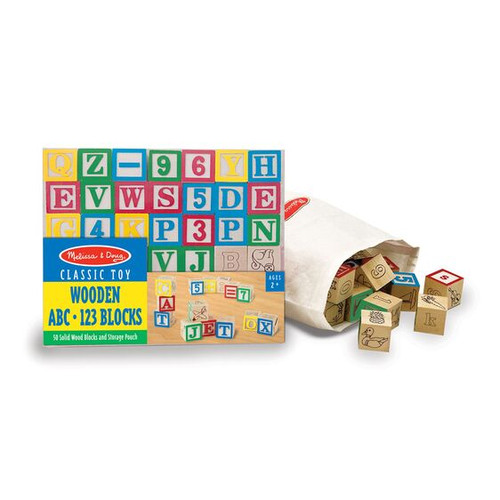 ABC/123 BLOCKS WOOD