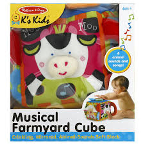 CUBE LEARNING TOY 6M+