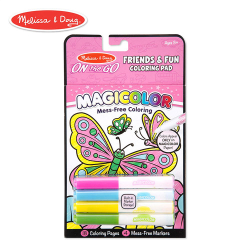 MAGICOLOR COLORING PAD FRIENDS