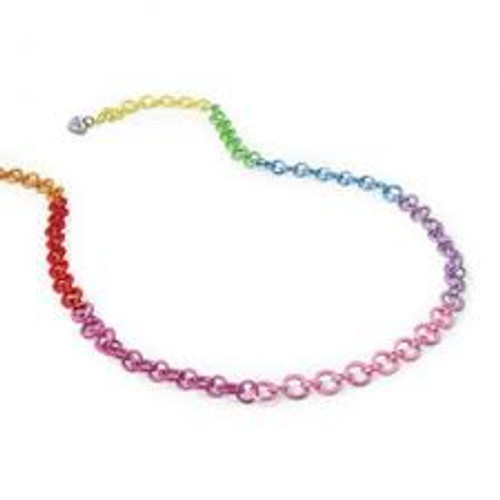 CHARM IT! RAINBOW CHAIN NECKLACE
