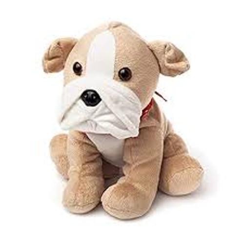 WARMIES COZY PLUSH BULL DOG