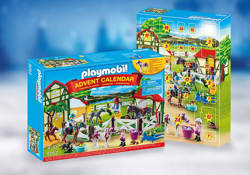 ADVENT CALENDAR HORSE FARM