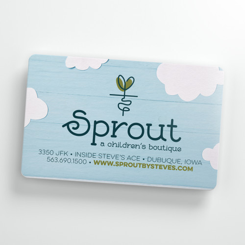 SPROUT GIFT CARD