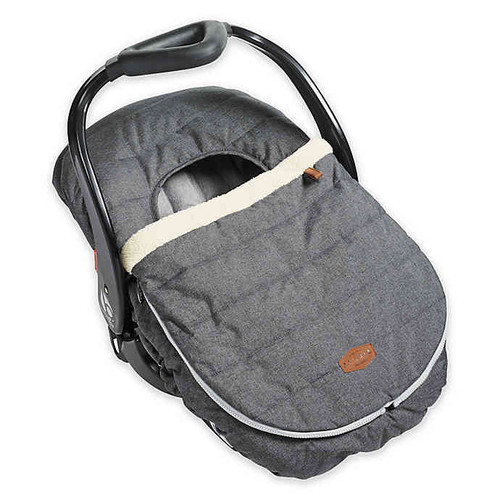 JJ COLE CAR SEAT COVER HEATHER GRAY