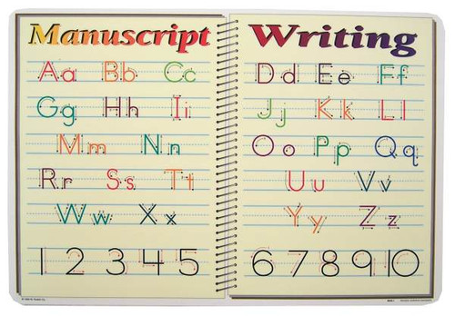 PLACEMAT MANUSCRIPT WRITING