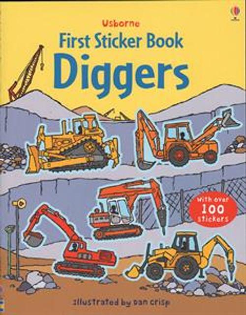 FIRST STICKER BOOK DIGGERS