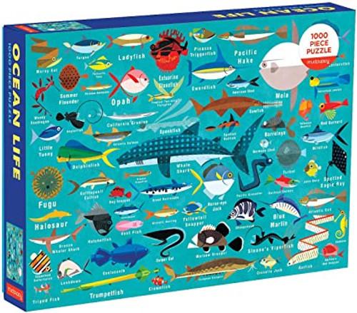 OCEAN LIFE 1000 PC PUZZLE