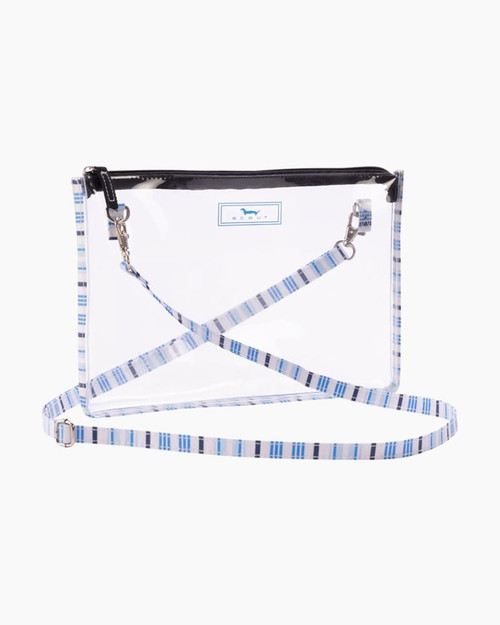 SCOUT CLEAR ABBY CROSSBODY OUT OF THE BLUE