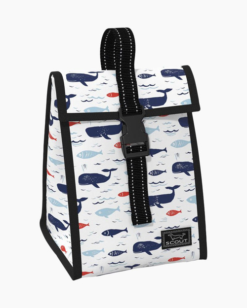 SCOUT DOGGIE BAG LUNCH BAG ALL IS WHALE