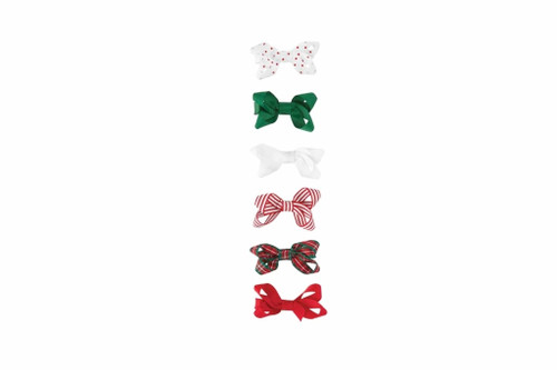 GROSGRAIN HOLIDAY BITTY BOWS