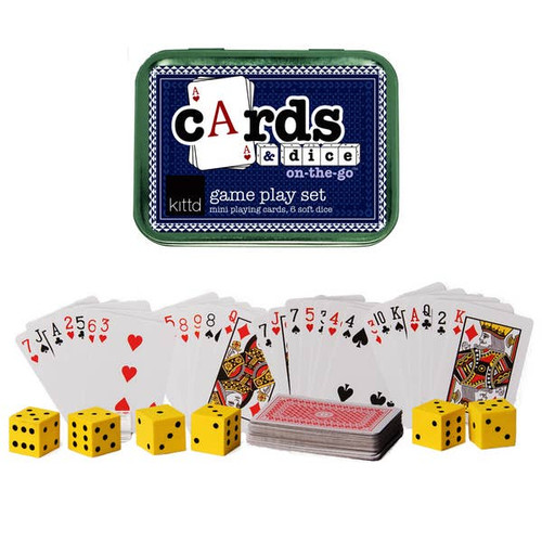 ON THE GO CARDS & DICE