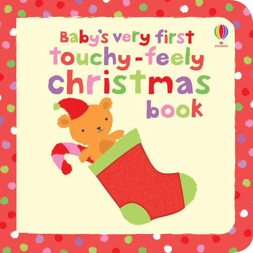 1ST TOUCHY-FEELY XMAS BOOK