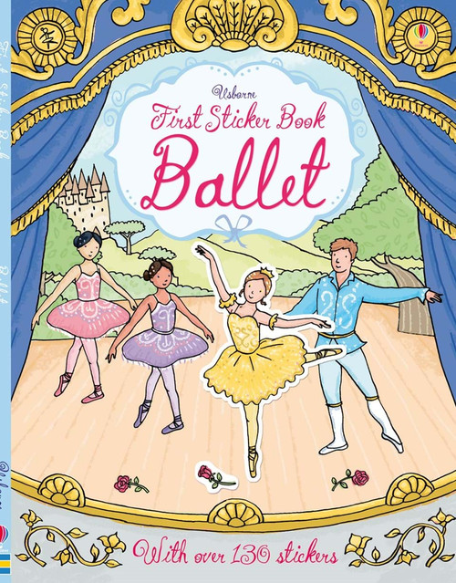 1ST STICKER BOOK BALLET RECITAL