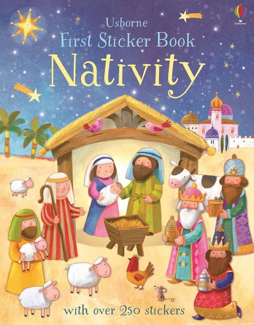 1ST STICKER BOOK NATIVITY