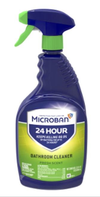 MICROBAN SPRAY DISINFECTANT BATHROOM CLEANER