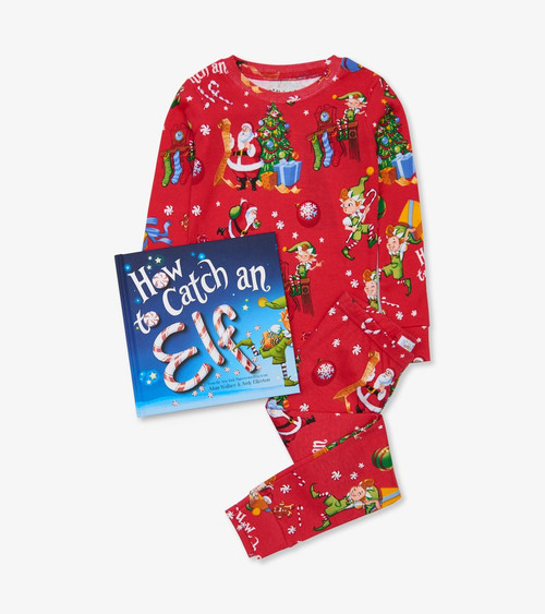 BOOKS TO BED PAJAMA SET HOW TO CATCH AN ELF